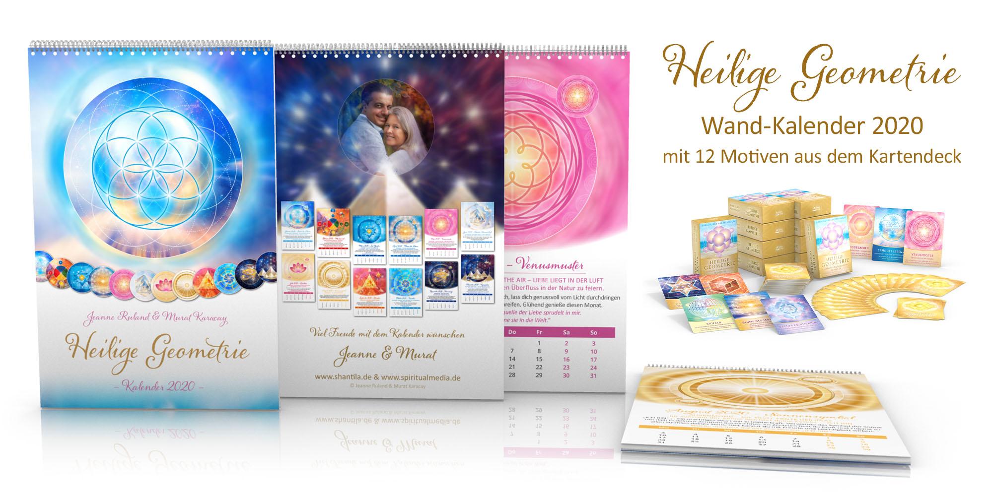 Heilige Geometrie Kalender